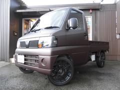 クリッパートラックDX PS AC 4WD マットブラウンオールペン 16AW