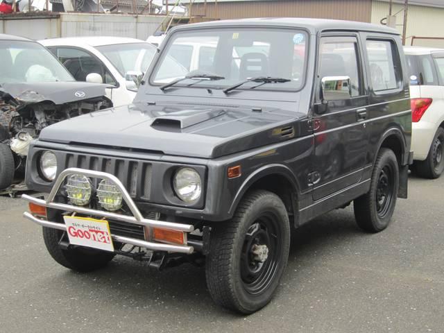 鈑金・塗装・整備もお任せ!お車のことなら亀山鈑金へ☆支払総額26万円 人気のジムニー!5速のJA11V!現状渡しとなります。
