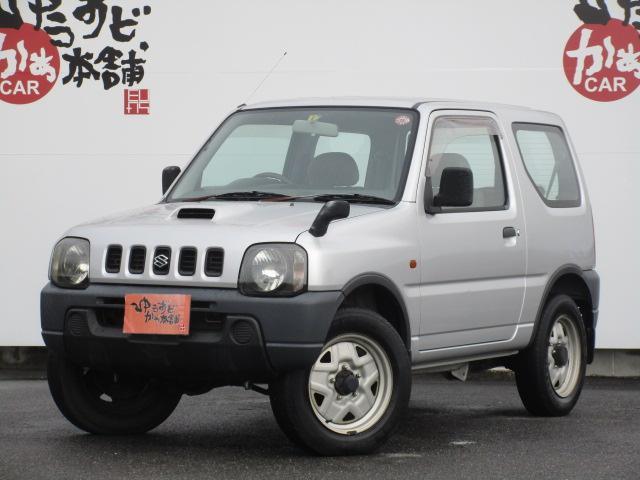 スズキ XA 5MT ワンオーナー 背面タイヤ パートタイム4WD