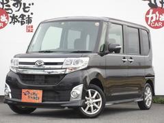 タントカスタムX エコアイドル 電動スライド 社外SDナビ