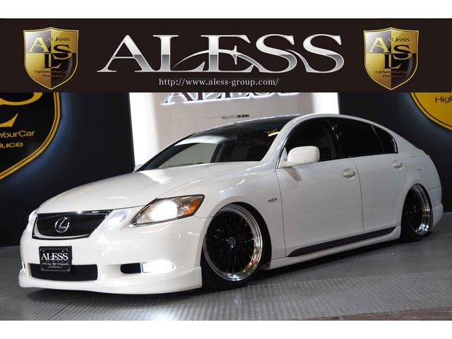レクサス GS GS350黒革シート 新品車高調 19インチ フル...