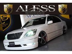 セルシオeR黒革サンルーフアミスタッド19インチ新品タイヤフルエアロ