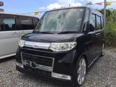 沖縄の中古車 ダイハツ タント 車両価格 74.8万円 リ済別 平成21年 7.5万K ブラック