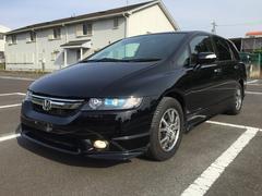 沖縄の中古車 ホンダ オデッセイ 車両価格 49.8万円 リ済別 平成19年 7.9万K ブラックM