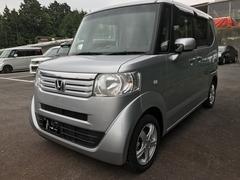 沖縄の中古車 ホンダ N BOX+ 車両価格 84.8万円 リ済別 平成24年 5.4万K シルバーM