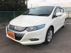 沖縄の中古車 ホンダ インサイト 車両価格 69.8万円 リ済別 平成21年 6.5万K パールホワイト