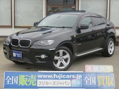 BMW X6xDrive 35i サンルーフ 地デジ 黒革 5人乗