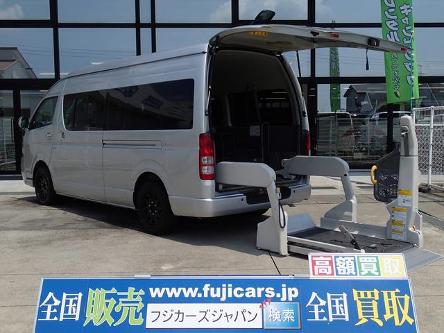 トヨタ ウェルキャブ福祉車両 Dタイプリフト10人4台 2.5DTB