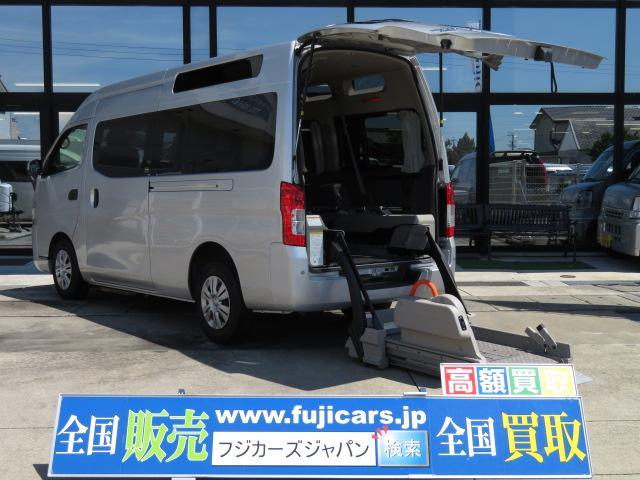 日産 チェアキャブ福祉車両 M仕様リフト 10人2台 HDD