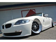 BMW Z4ロードスター2.5i 赤革HDDナビ車高調18インチマフラー