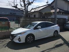 プリウスPHV Aレザーパッケージ 登録済未使用車 ナビTV バックカメラ(トヨタ)