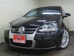 VW ゴルフR32 HDDナビ地デジ 黒革シート 250PS AWD