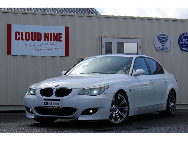 BMW 5シリーズ 525i M5仕様 四本出マフラー 19AW ...