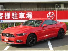 フォード マスタング50イヤーズ エディション ワンオーナー禁煙車 黒革シート