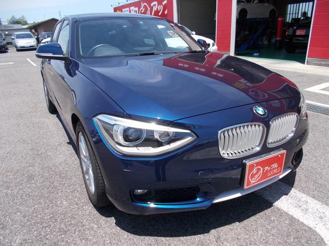 BMW 1シリーズ 116i ワンオーナー ハーフレザーシート 純...
