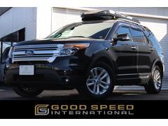 フォード エクスプローラーXLT エコブースト HDDフルセグナビTV  ベージュ革
