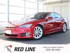 RED LINE・テスラ モデルS 75 禁煙車 黒革 ナビ バックカメラ ガラスルーフの画像