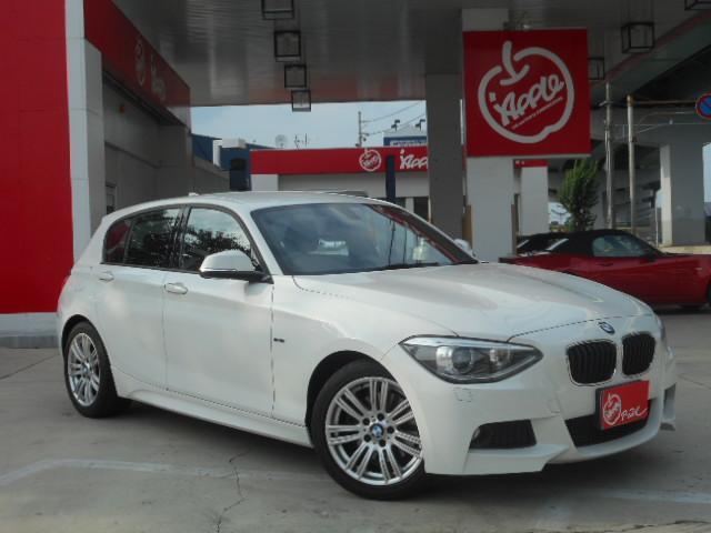 BMW 120i Mスポーツ 純正HDDナビ スマートキー HID