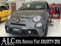 アバルト アバルト595コンペティツィオーネ純正ナビBカメラETC新車保証継承