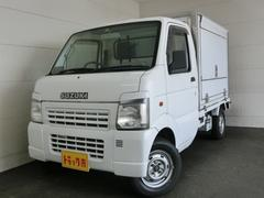 キャリイトラック 移動販売車 冷凍機−5℃ 跳ね上げ扉 DCコンバータ(スズキ)