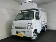 キャリイトラック 移動販売車 冷凍機設定−5℃ 跳ね上げ扉(スズキ)