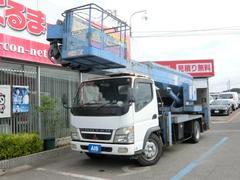 キャンターアイチ 高所作業車 作業床高さ22m バケット積載200kg