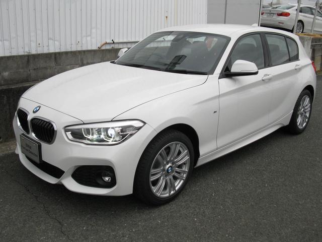 BMW 1シリーズ 118dMスポ 新車保証残有 パーキングサポー...
