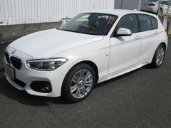 BMW118iMスポ 新車保証残有 パーキングサポートP 純LED