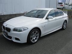 BMW523iMスポ 純正HDDナビ パドルシフト 純ETC禁煙車