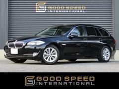 BMW523iツーリング ハイライン 直噴 黒革 SR 純正HDD