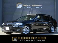 BMW523d TRG ハイライン SR 黒革 純正HDD 1オナ