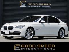 BMW750i MスポーツPKG本革ベンチレーション 純HDDナビ