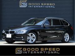 BMW320d BPツーリング スポーツ 赤革 純正HDDTV