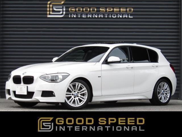 BMW 116i Mスポーツ 黒革シート サンルーフ 純正HDDナビ