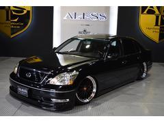 レクサス LS430新品車高調 新品タイヤ新品19inホイール HDDナビ