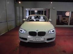 BMW116i ファッショニスタ ベージュレザー フルセグTV