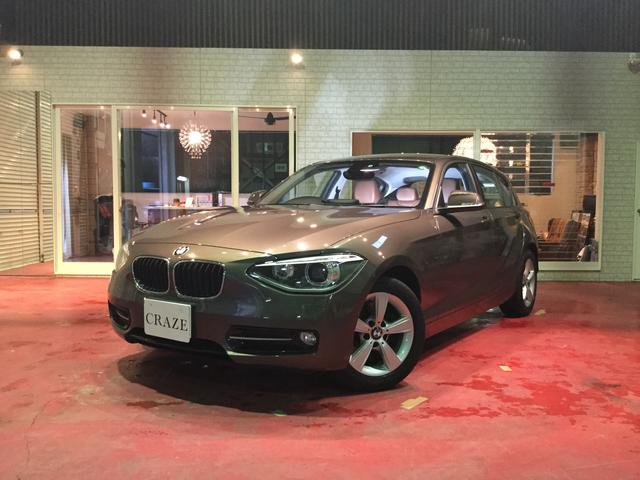 BMW 1シリーズ 116i スポーツ ブラウンレザー禁煙 純正H...