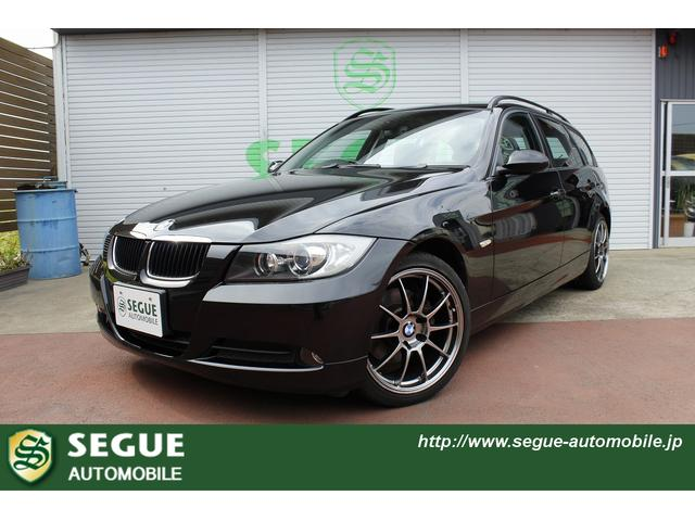 bmw 3 series 320i touring 2007 black 68 201 km. Black Bedroom Furniture Sets. Home Design Ideas
