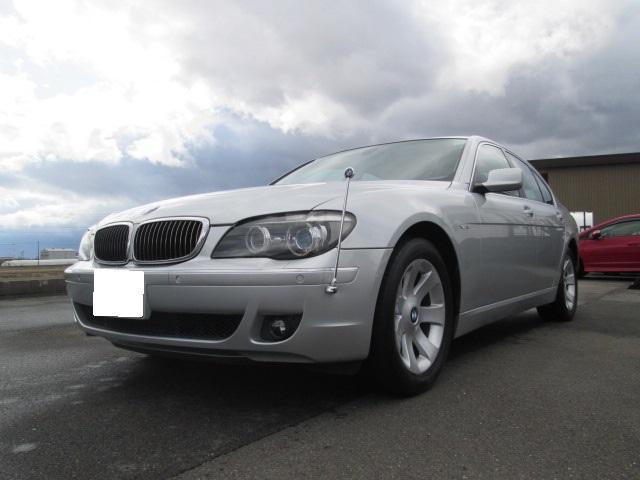 BMW 7シリーズ 740i ナビ ETC サンルーフ 革シート ...