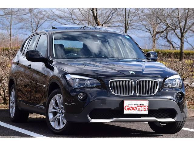BMW X1 xDrive28iハイラインPKG 黒皮Pシート サ...