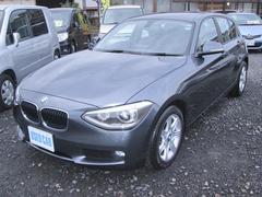 BMW116i ターボ プッシュスタート ETC 純正ナビ