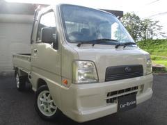 サンバートラックTB パワステ エアコン 4WD 5MT 社外AW