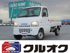 キャリイトラックKUエアコン付3方開 4WD 地デジナビ付
