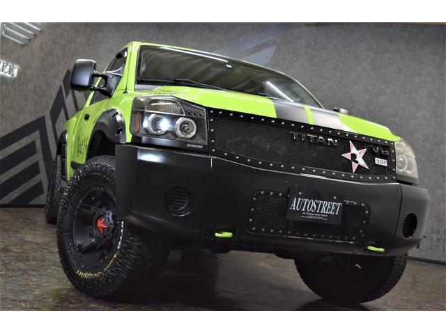 4WD オーバーフェンダー 社外17AW 社外マフラー