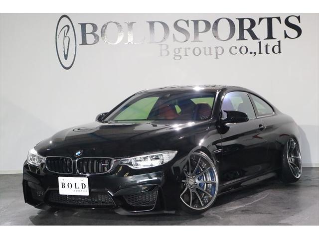BMW M4 M4クーペ MT車 左ハンドル 純正HDDナビ HI...