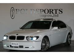 BMW760Li 鑑定済み 全塗装 左ハンドル 社外ナビ