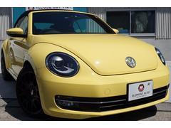VW ザ・ビートル・カブリオレベースグレード 本革シートBBSアルミ純正ナビBカメラ地デジ