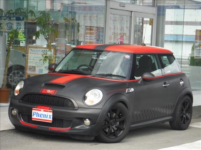 MINI MINI クーパーS ラッピングカー 革調シートカバー ...