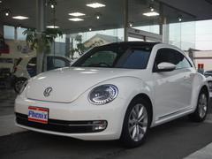 VW ザ・ビートルデザインレザーパッケージ サンルーフ 純正ナビ フルセグTV