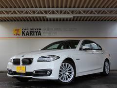 BMW523iラグジュアリー禁煙1オナ黒革ドラアシプラス5年SI